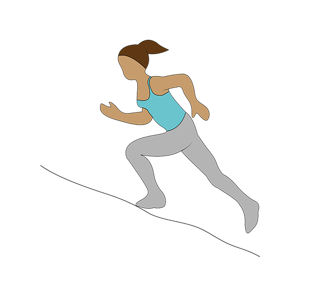 hill sprints, Katarina Johnson-Thompson's athlete's workout for non-athletes by healthista