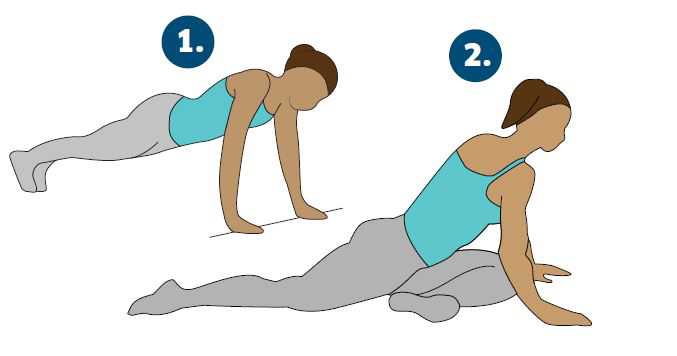 lower body stretch, Katarina Johnson-Thompson's workout for non athletes by healthista