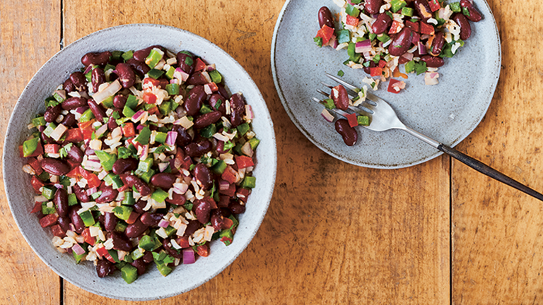 red bean salad main, Vegetarian recipes you will LOVE by healthista