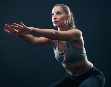 squat, sweaty 30 - lower body workout by healthista.com