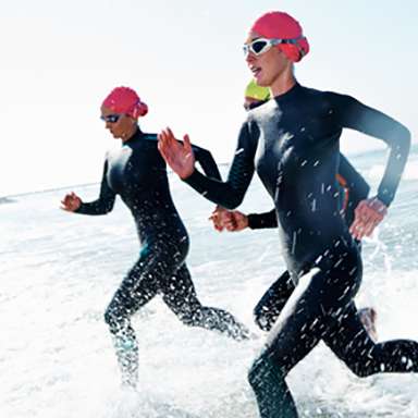 traithlete featured, celebrities you didn't know are triathletes by healthista