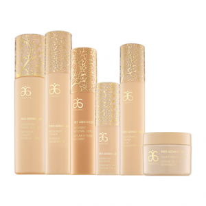 Arbonne re9 range anti ageing, sweat proof makeup by healthista