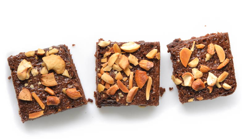 Healthy brownies with no sugar from Davina McCall's new book – recipe video
