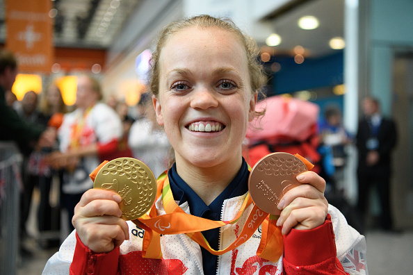 Ellie Simmonds gold medals, what an athlete eats in a day by healthista