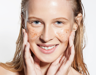 How to make a natural homemade face scrub, clean beauty co, by healthista (3)