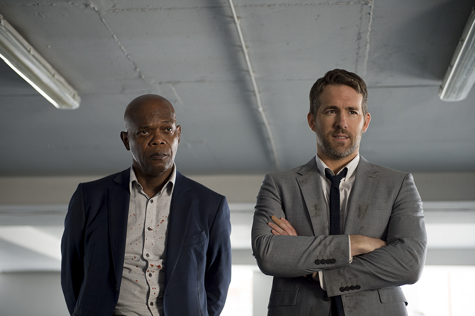 Ryan Reynolds and Samuel L Jackson Hitman's bodyguard, how does a bodyguard stay fit by healthista