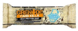 carb killa white chocolate grenade protein, what an athlete eats in a day by healthista