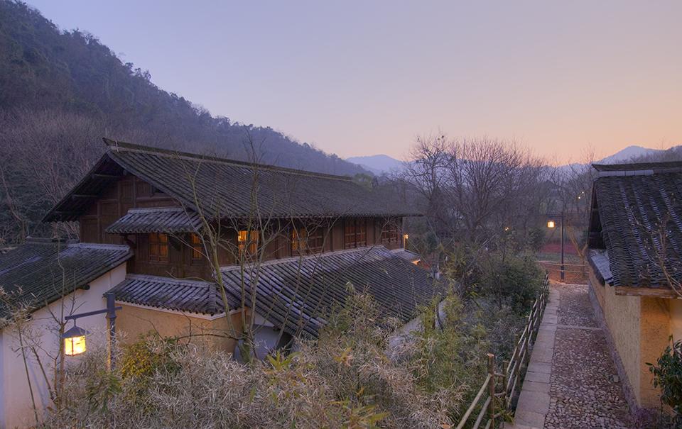 evening at resort, Amafayun resort china hongzhou spa of the week by healthista