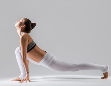 groin stretch, beginner's yoga course by healthista.com