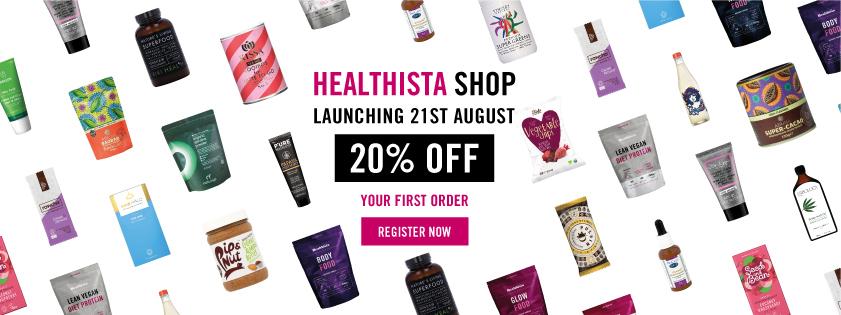 healthista shop 20% off discount