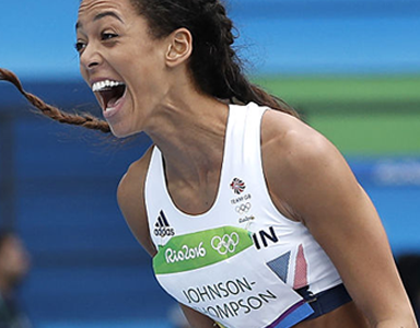 Katarina Johnson Thompson featured, what an athlete eats in a day by healthista