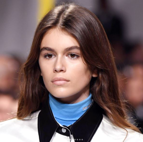 Calvin Klein Instagram, Get the beauty looks from the SS18 catwalks by healthista.com