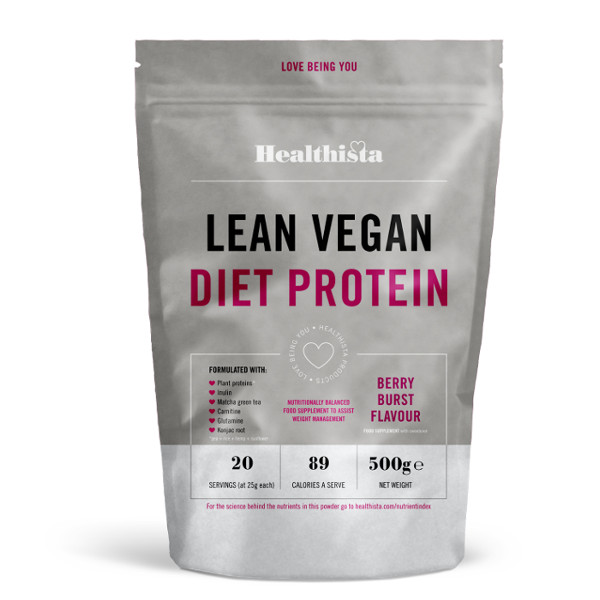 Healthista lean vegan diet protein, best supplements for people who exercise by healthista.com
