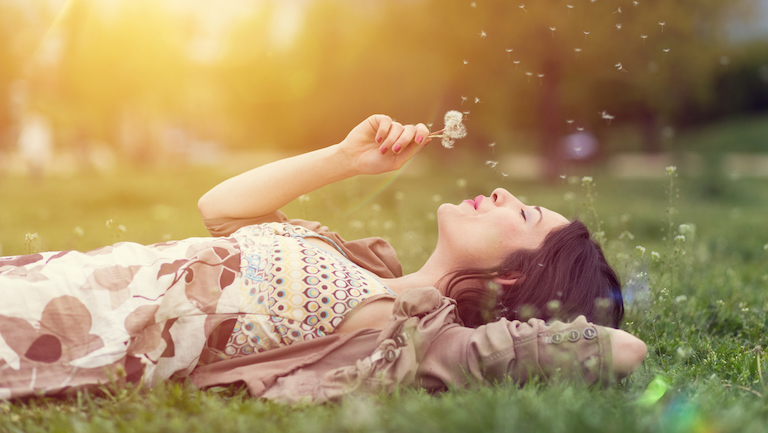 relaxed woman 10 things to do if you can't relax after work healthista main