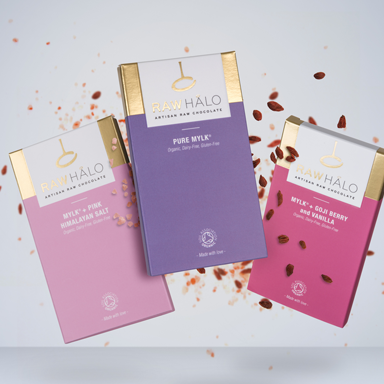 We love Raw Halo vegan chocolate that uses as little as three ingredients, by healthista (1)