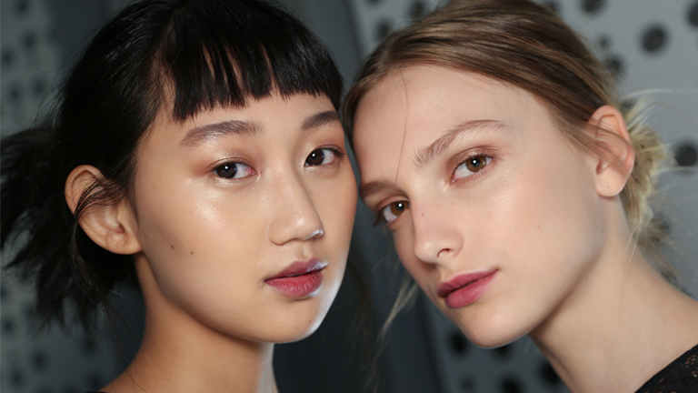 fresh face main image SS18 beauty, Get the beauty looks from the SS18 catwalks by healthista