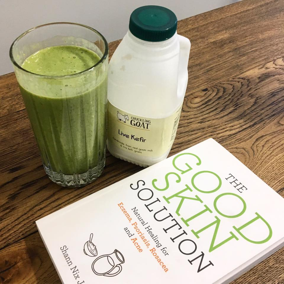 smoothie, Could-goats-milk-kefir-cure-my-eczema-AND-gut-good-skin-solution-chuckling-goat-by-healthista.com