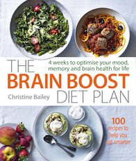 Brain boost book cover Eat your way to happiness 3 day brain boosting diet healthista
