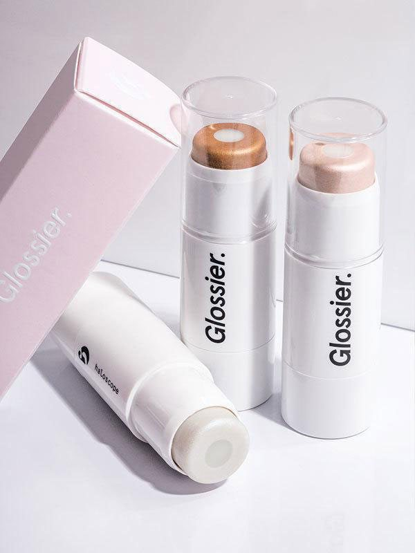 Glossier-haloscope highlighter, Healthista reviews Glossier by healthista.com