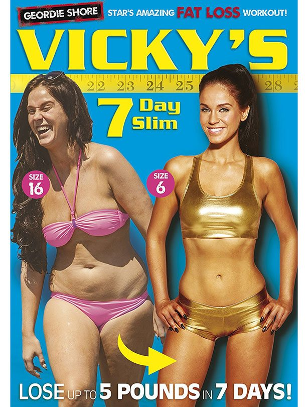 How to keep healthy habits when you are a party girl Vicky Pattison's PT's top tips, by healthista.com