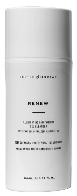 pestle and mortar gel cleanser, best brightening beauty products that will make your face GLOW by healthista