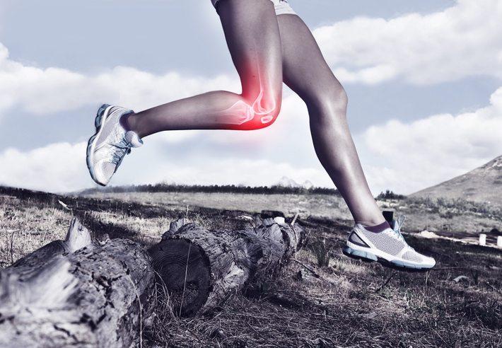 woman running legs, symptoms of vitamin D deficiency by Healthista
