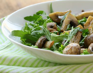 Mushroom salad 15 recipes to boost your antioxidant intake healthista featured