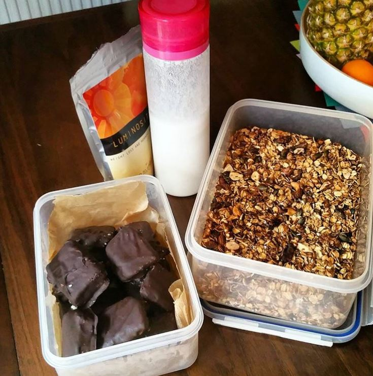 Rebecca Adlington shares her healthy food essentials and meal prep recipes, by healthista