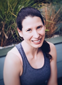 Sarah Vrancken Post natal pilates video healthista headshot