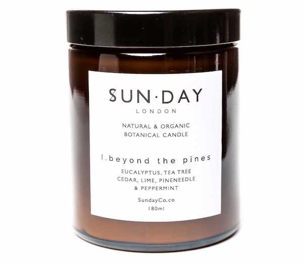 Sun.Day london aromatherapy candle nontoxic candles to help you relax