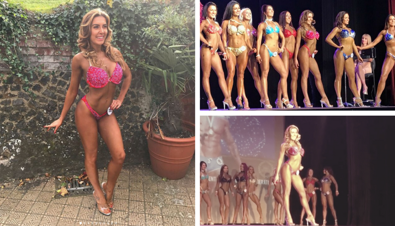 Bikini competition training – what REALLY happens in the week before a comp