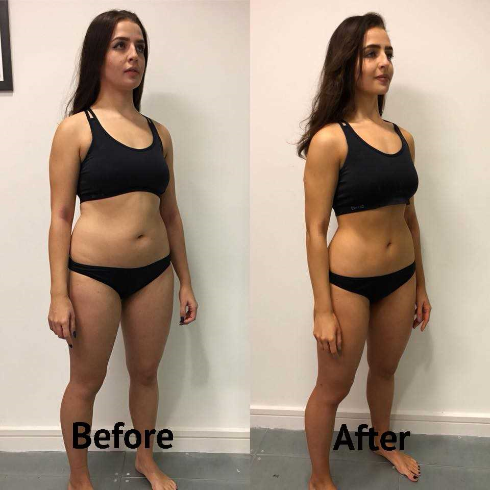 8 week weight loss transformation Healthista's Vanessa Chalmers' results
