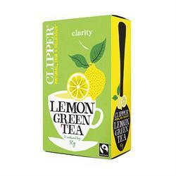 Clipper Green Tea with Lemon best teas international tea day healthista