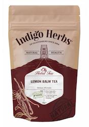 Indigo Herbs Lemon Balm Loose Herbal Tea best teas international tea day healthista