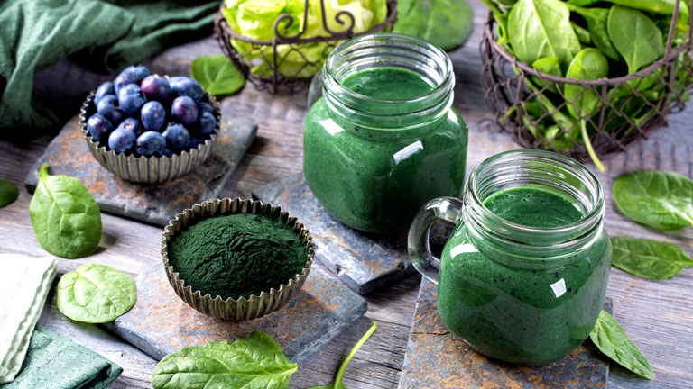 chlorella-smoothie,-weight-loss-tips---synergy-natural-organic-chlorella-by-healthista