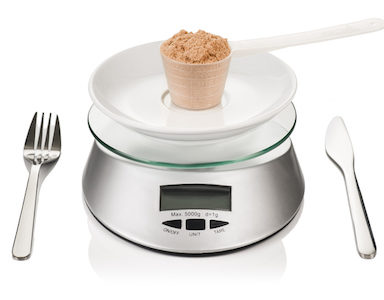 protein-on-scales-protein-powder-for-weight-loss-featured-image