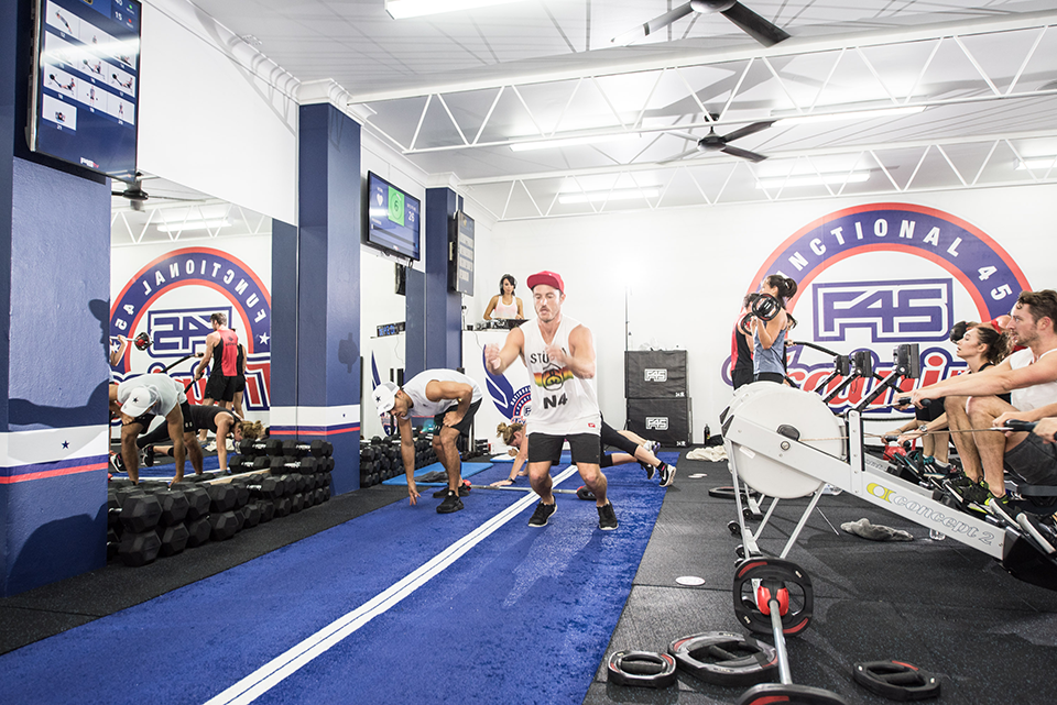 F45 training, best fitness studios in london by healthista
