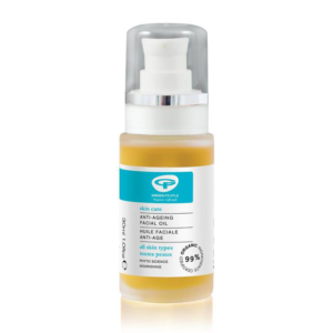 Green people anti ageing facial oil, best anti ageing oils for post-party face by healthista