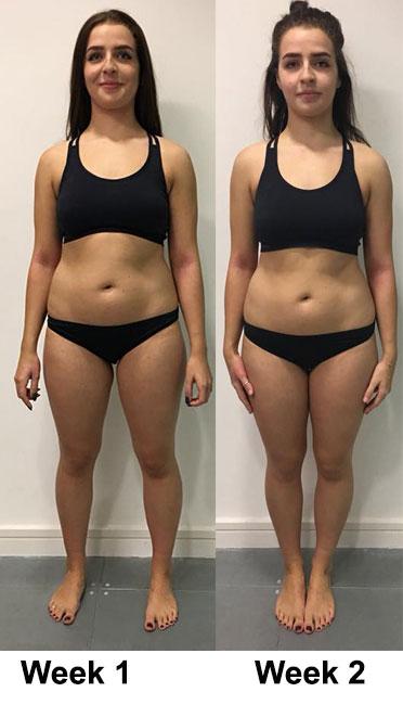 maximum weight loss per week kg