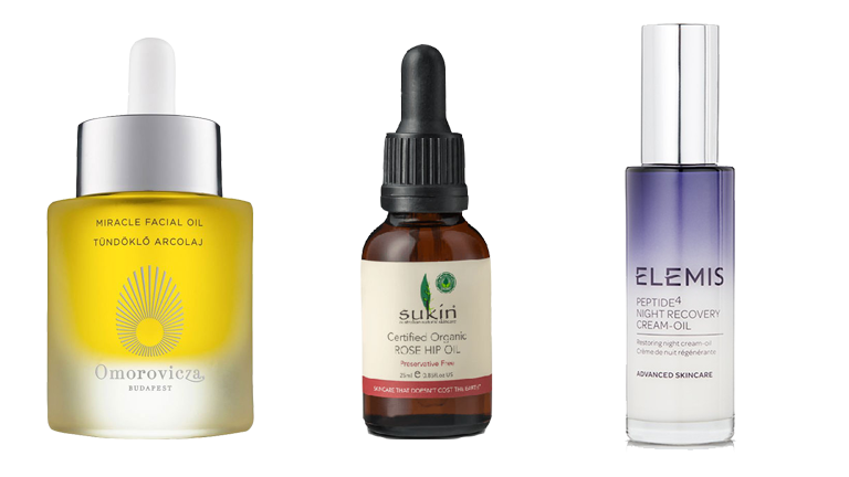 anti ageing oils main, best anti ageing oils for post-party face by healthista