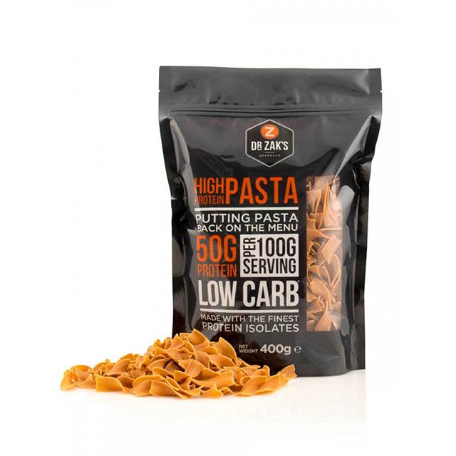 dr zaks high protein pasta, best protein pasta by healthista