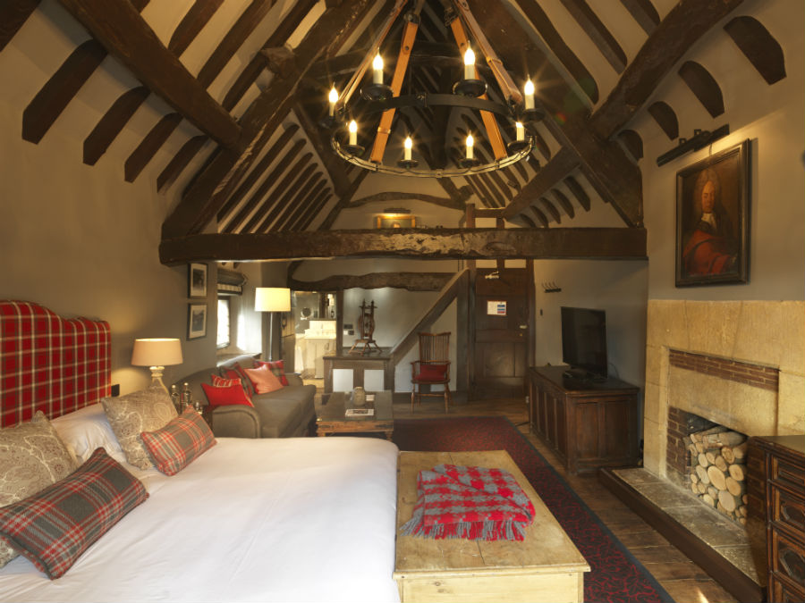 Master Suite, Spa of the week Lygon Arms Cotswolds by healthista