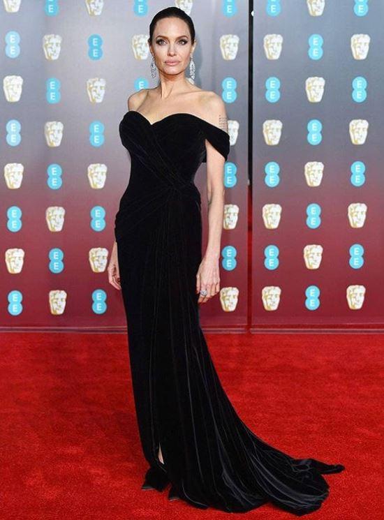 angelina jolie, Celebrity trainer secrets of BAFTA A-listers, by healthista.com