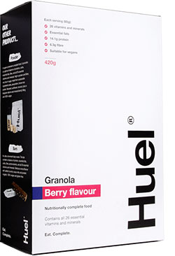 huel granola, Best breakfast granolas that are shop-bought AND healthy, by healthista.com