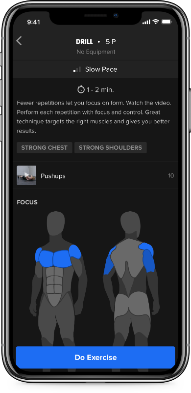 interval overview freeletics, the fitness app powered by AI that can give you your own tailored workout programme by healthista