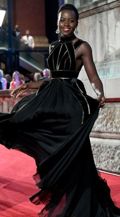 lupita nyong'o, Celebrity trainer secrets of BAFTAs finest A-listers, by healthista.com