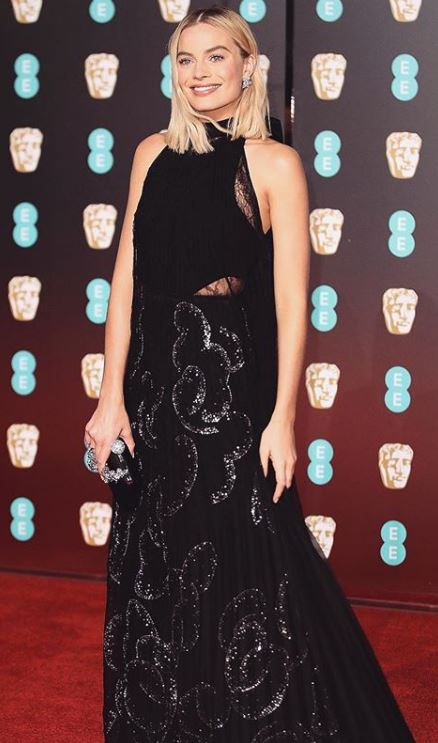 margot robbie, Celebrity trainer secrets of BAFTAs finest A-listers, by healthista.com
