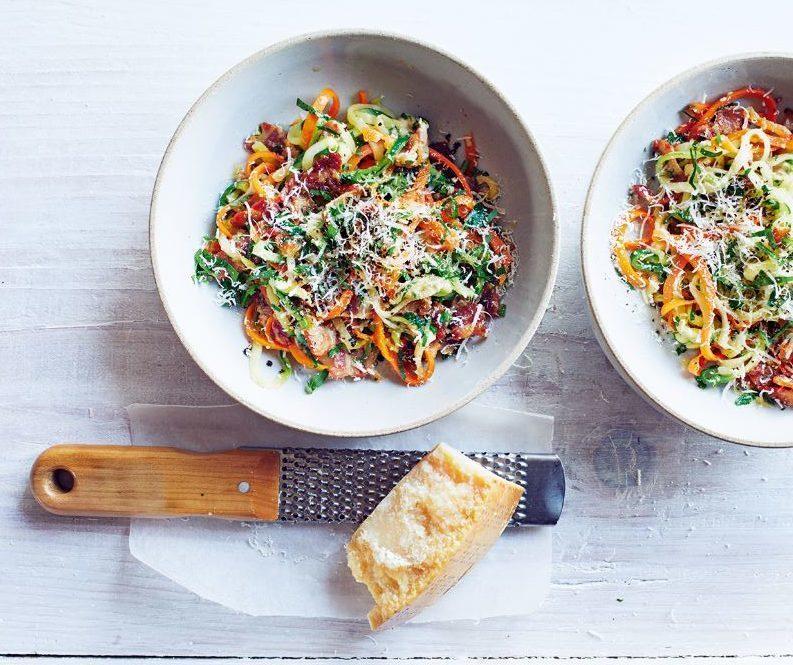 Low Carb Express Rainbow Spaghetti