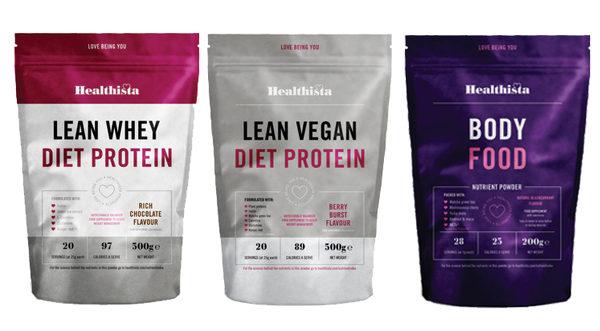 healthista Protein whey vegan body food group image