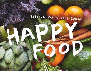 HAPPY FOOD book cover Bettina Campolucci Bordi Healthista